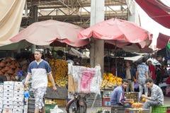 Souk - miasto rynek w Agadir Zdjęcia Royalty Free