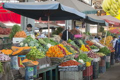 Souk - miasto rynek w Agadir Zdjęcia Stock