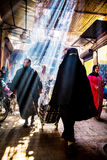 Souk Smarine, Marrakesh Foto de archivo