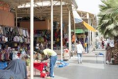 Souk - stadsmarkt in Agadir stock fotografie