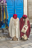 Souk Tunis. Tunis street tradings Arabic souk Royalty Free Stock Photography