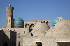 The souk in uzbekistan Royalty Free Stock Photo
