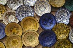 Souk von Marrakesch Stockbild