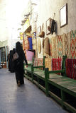 Souk Wakif em Doha Qatar imagem de stock