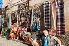 Souks在马拉喀什,摩洛哥麦地那  图库摄影