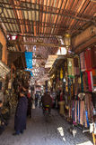 Souks Market in Marrakech, Morocco Stock Photography