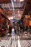 Souks in Marrakech, Morocco Royalty Free Stock Photography