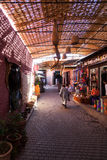 Souks of Marrakesh Royalty Free Stock Photos