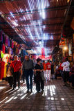 In the souks of Marrakesh Royalty Free Stock Photo