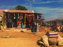 The souks of Nubia Royalty Free Stock Images