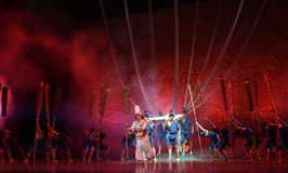 """Soul come back -Dance drama """"The Dream of Maritime Silk Road"""" Stock Photos"""