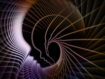 Soul Geometry Abstraction Stock Image