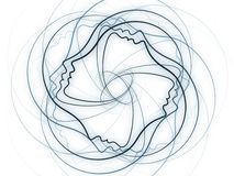 Soul Geometry Background Stock Photography