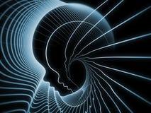 Soul Geometry Metaphor Stock Image