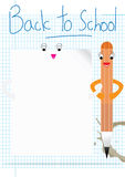 Soul Mate Back To School Space_eps Royalty Free Stock Photography