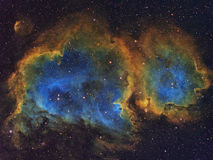 The Soul Nebula. High resolution image of the Soul Nebula in Cassiopeia stock photos