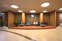 Soul Spa εσωτερικό στο ξενοδοχείο του Sochi Marriott στο θέρετρο του Γκόρκυ Gorod Άποψη σαλονιών στοκ φωτογραφία