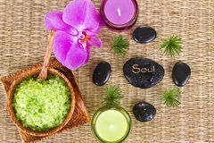 Soul - Spa Concept Royalty Free Stock Photos