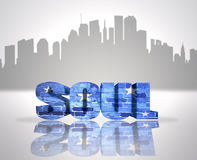 Soul in town Royalty Free Stock Photography
