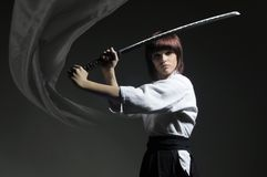 Soul_of_warrior(katana)#2 Royalty Free Stock Images