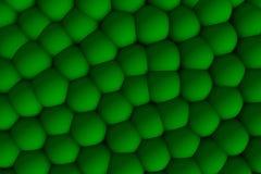 Soulagement celular vert 3d dans les ombres Photo libre de droits