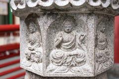 Soulagement de Bouddha Images libres de droits