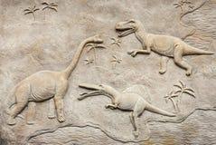 Soulagement 2 de Dino Photo libre de droits