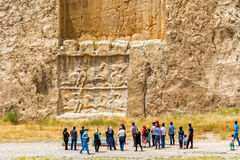Soulagement de Naqsh-e Rustam photo libre de droits