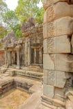 Soulagement sur la pierre du temple de Prohm de ventres, Angkor Thom, Siem Reap, Cambodge Photos libres de droits