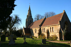 Souldrop village church. Stock Image