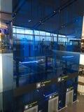 Soulevez dans l'aéroport de Dublin, le terminal deux Image stock