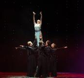 Soulevez la magie de déesse-Le de la danse du monde de l'Autriche de danse-le d'amour-flamant Photos stock