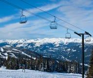 soulevez le ski Image libre de droits