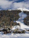 soulevez le ski de montagne Photographie stock libre de droits