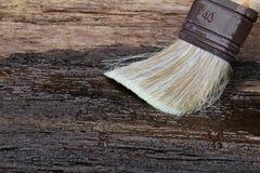 Soulignez l'huile de lin photo libre de droits