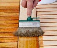 Soulignez la table en bois photos libres de droits