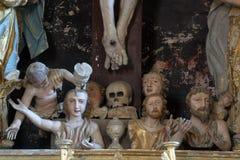Souls in purgatory Stock Image