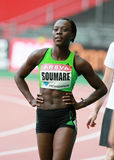 SOUMARE Myriam (FRA) Royalty Free Stock Photos