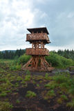 Soumarske raseliniste lookout tower Royalty Free Stock Image