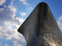 Soumaya博物馆的建筑在市墨西哥 免版税库存照片