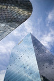 Soumaya and Carso Buildings Royalty Free Stock Photos