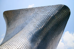 Soumaya and Carso Buildings. In Mexico City Royalty Free Stock Photos