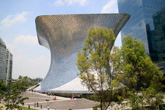 Soumaya and Carso Buildings Stock Photos