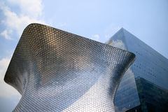 Soumaya and Carso Buildings. Soumaya museum with over 66,000 works from 30 centuries of art Stock Photography