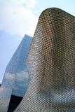 Soumaya and Carso Buildings. Soumaya museum with over 66,000 works from 30 centuries of art Stock Photos