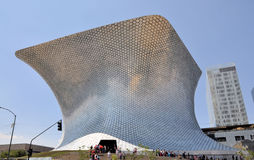Soumaya Museum Royalty Free Stock Photography