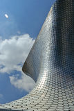 Soumaya museum. MEXICO CITY,MEXICO-SEPTEMBER 20,2016: View of the soumaya museum, an iconic building , landmark of mexico city, Mexico Stock Photo