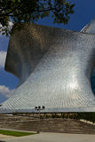 Soumaya museum at Mexico city. MEXICO CITY,MEXICO-SEPTEMBER 20,2016: View of the soumaya museum, an iconic building , landmark of mexico city, Mexico Royalty Free Stock Photos