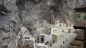 Soumela Monastery Royalty Free Stock Images