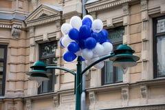 Soumi Finland 100 ballons Stock Fotografie